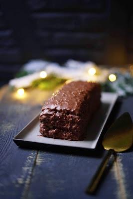 facile , recette simple , noêl , gâteau au chcoolat