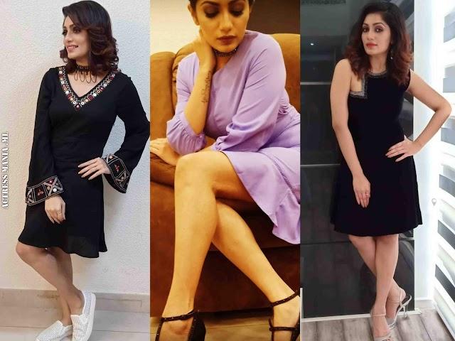 Arya Rohit Hot Thighs Photos