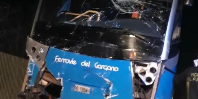 """مأساة ..وفاة مهاجرين مغربيين بإيطاليا في حادثة سير """"مرعبة""""  نواحي مدينة فوجا +فيديو"""