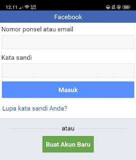 cara download video facebook lite