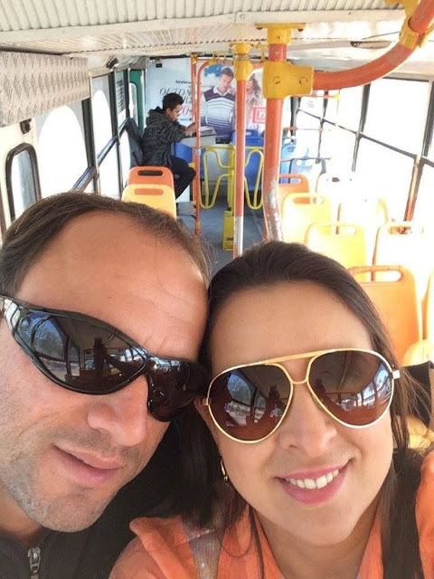 Dentro do Bondidinho - O que fazer em Balneário Camboriú (Santa Catarina)