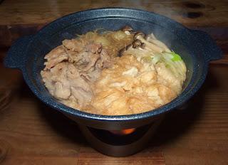 フー入り豚すき鍋