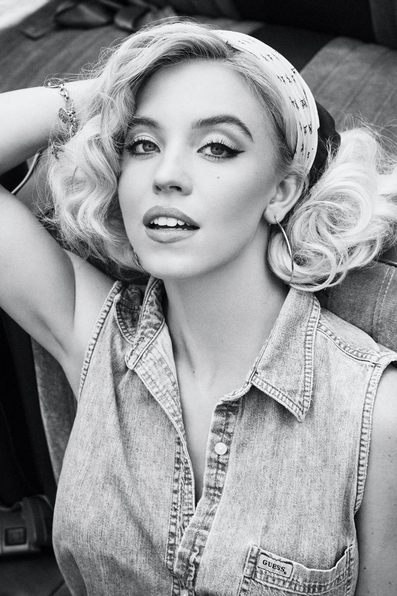 GUESS Originals x Anna Nicole Smith campaign