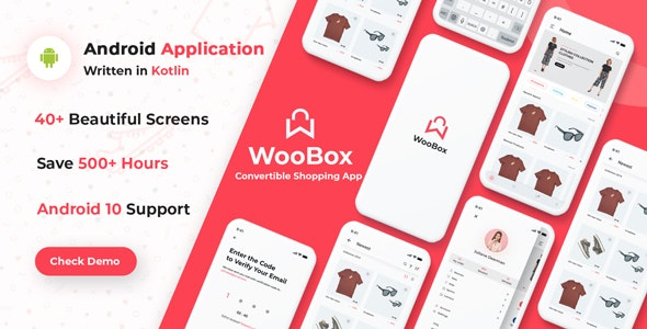 Download WooBox v7.0 - Native Android App for WooCommerce