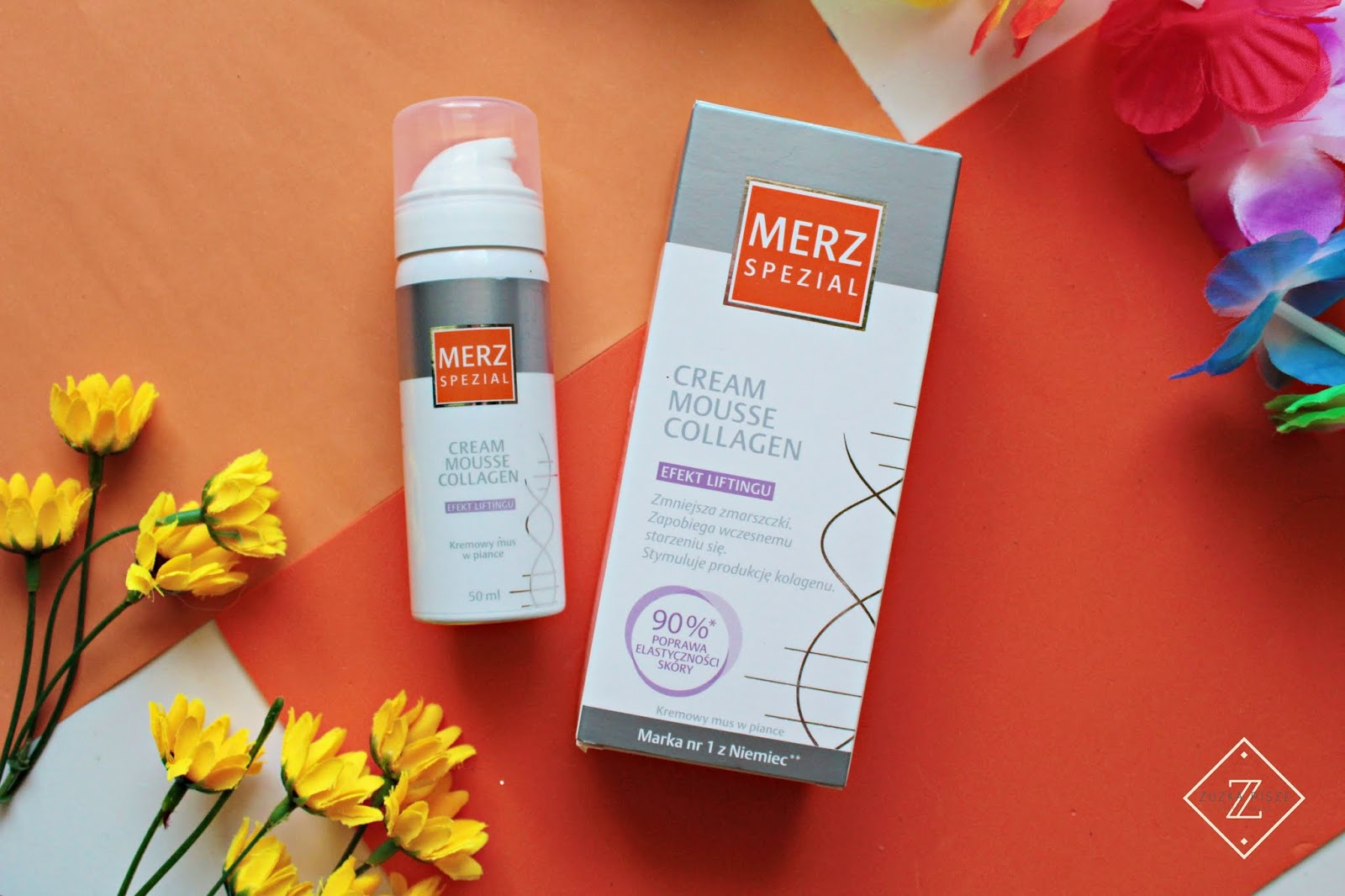 MERZ SPEZIAL CREAM MOUSSE COLLAGEN