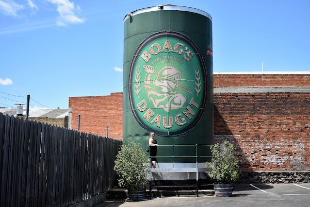 BIG James Boags Can | James Boags Brewery, Launceston