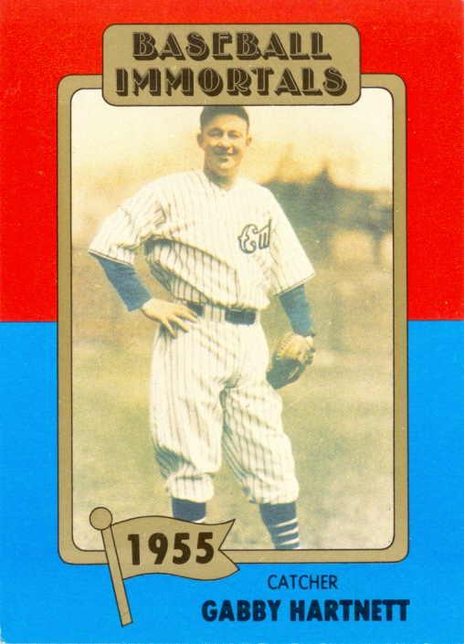 Wrigley Wax 1980 Baseball Immortals