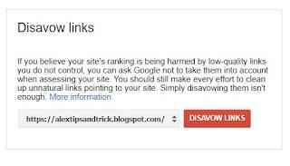 disavow link google