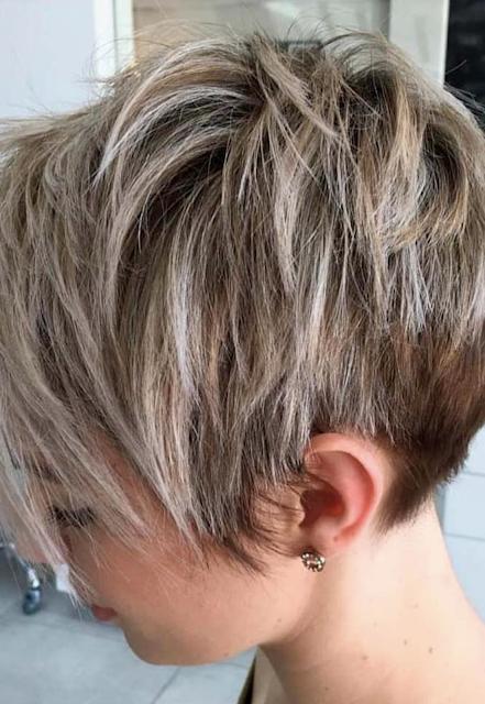 short haircuts female