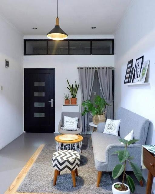 Living Salas Con Muebles Lineales para Pequeños Espacios