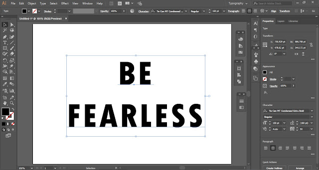 Rough Text Effect in Adobe Illustrator