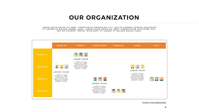 Free Organization Charts Free PowerPoint Template with 4K Slide Resolution Type F