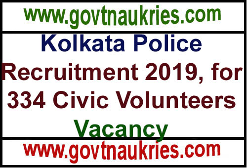 Govt Jobs for Kolkata