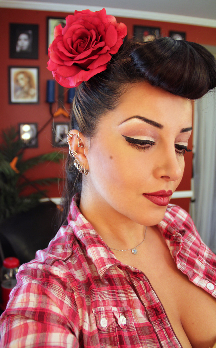 how to do easy hair styles how to do rockabilly hair 3979