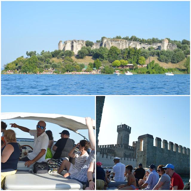 tour del lago di garda in barca