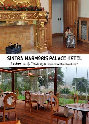 Best boutique hotel Sintra Marmoris Palace