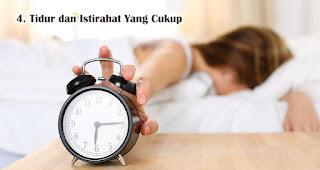Tidur dan Istirahat Yang Cukup saat berpuasa selama pandemi COVID-19