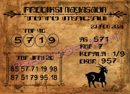 Prediksi Nagasaon Macau Selasa