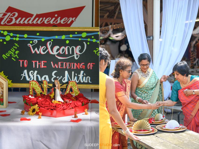 Outdoor Indian Wedding Decorations at German Park Kerala South Asian SudeepStudio.com Ann Arbor Indian Wedding Photographer
