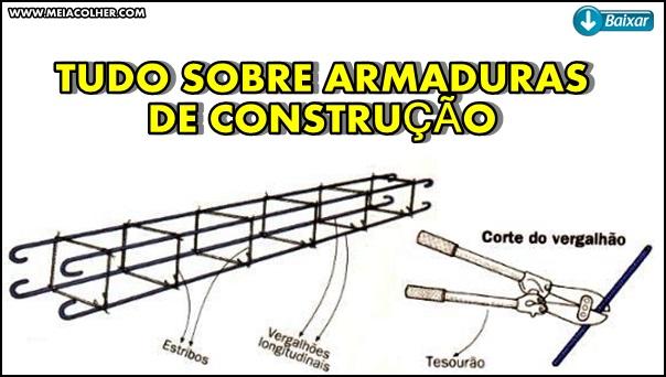 tudo sobre armaduras de construção civil