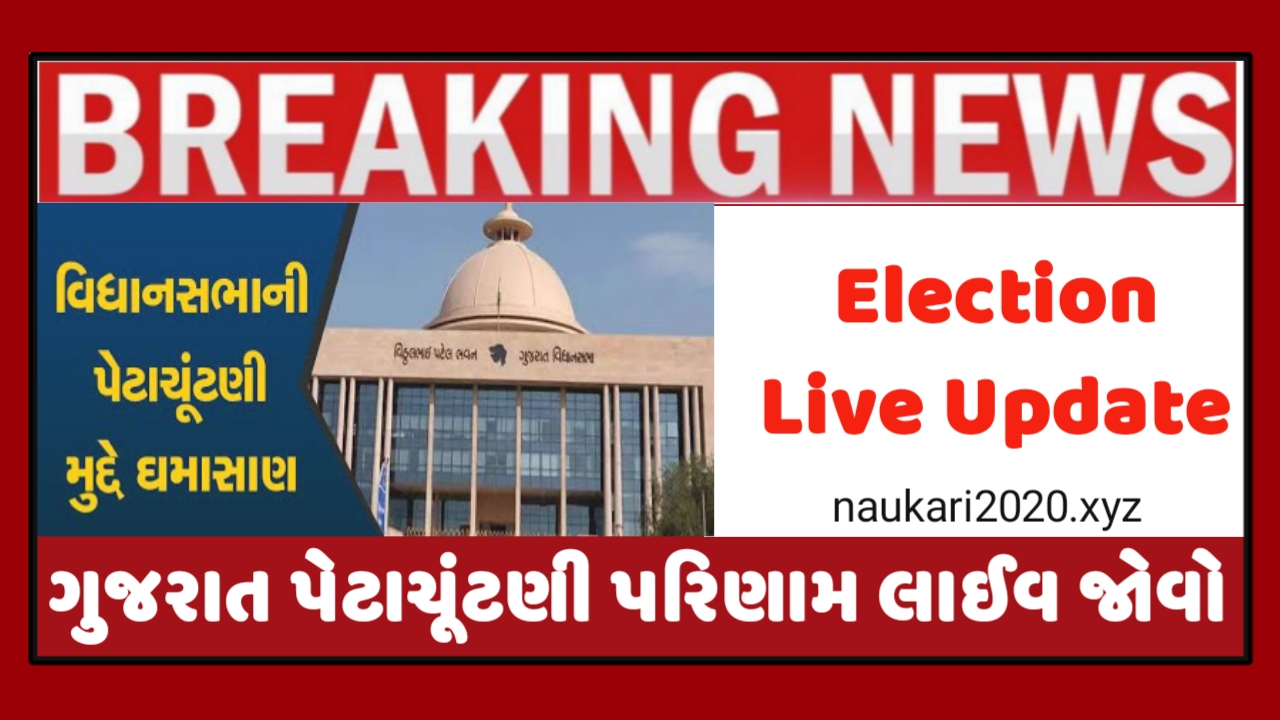 Gujarat Election Result Live Update 2020
