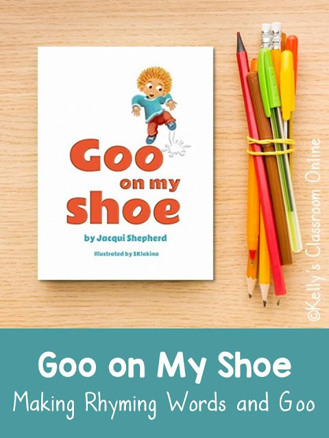 Learn about rhyming words, words with the /oo/ sound, and how to make your own goo with the book Goo on My Shoe by Mari Schuh.