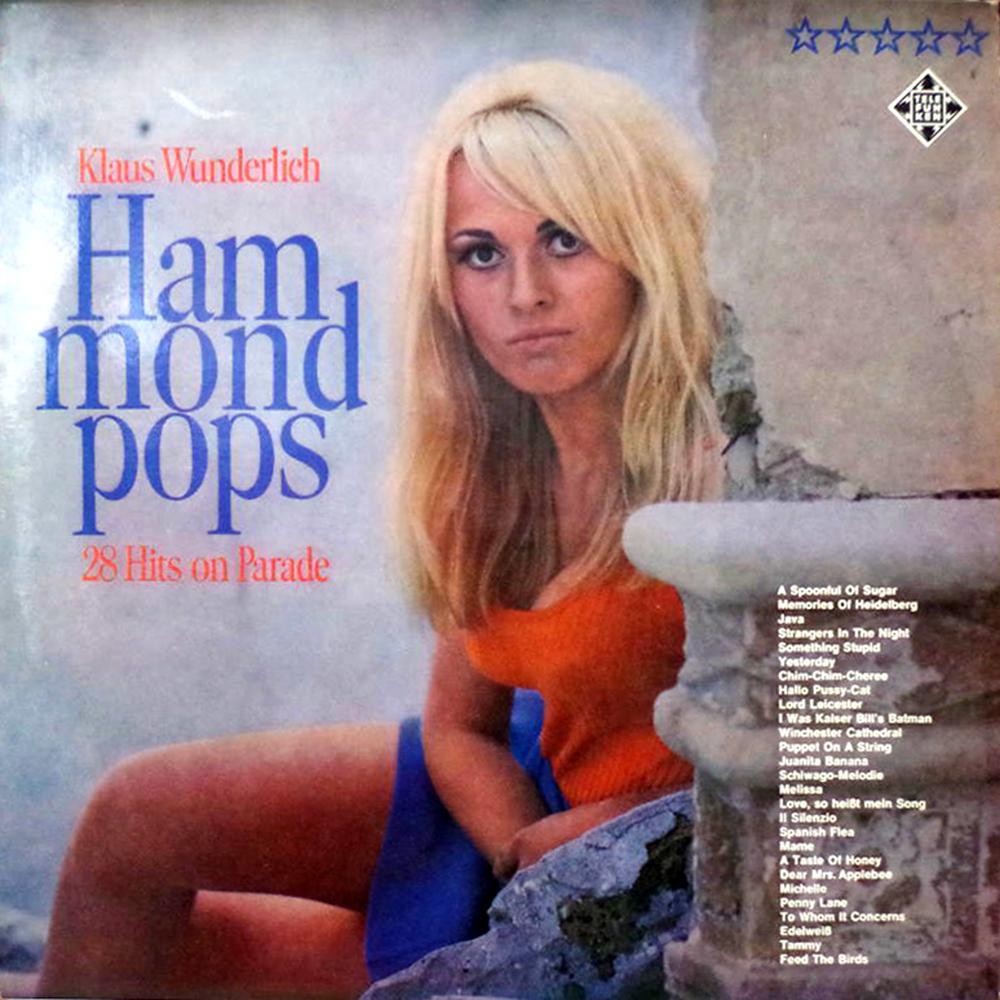 30 Vintage Sexy Hammond Organ Album Covers From the 1970s and