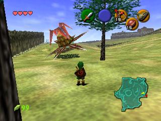 Jogue legend of Zelda n64 rom online grátis