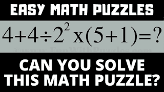 Can you solve these mathematical puzzles?