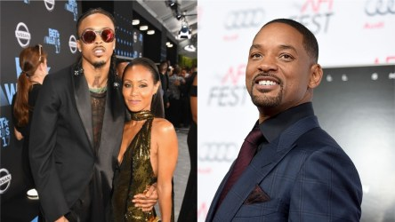 Will Smith and Wife Jada Admits she had an Affair with August Alsina