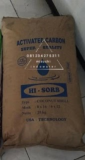 Carbon aktif super quality Hi-sorb Termurah