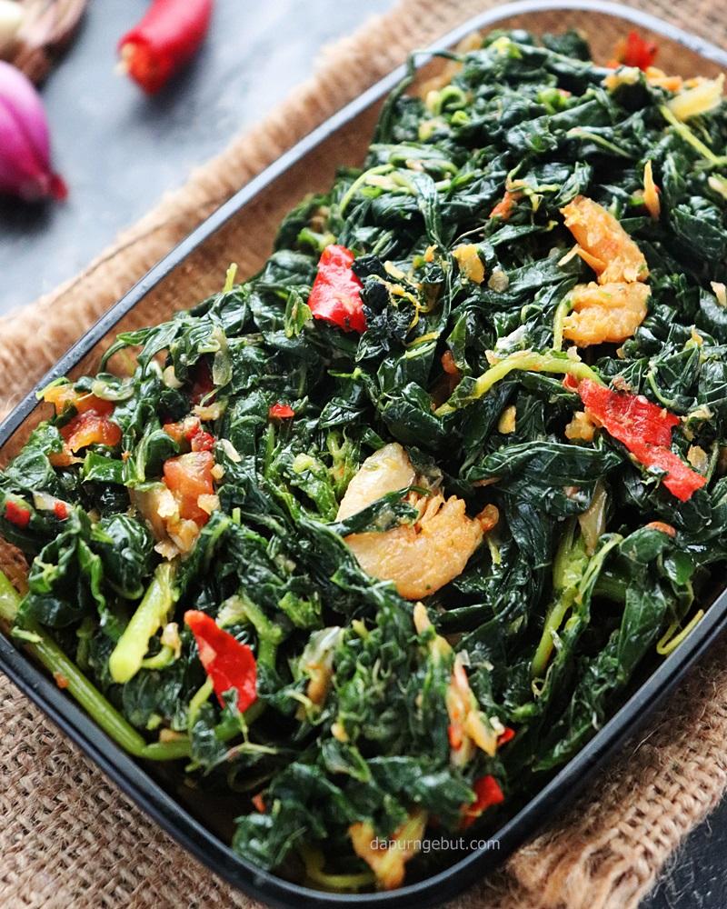 Sayur Daun Pepaya : sayur, pepaya, Tumis, Pepaya, Dapur, Ngebut
