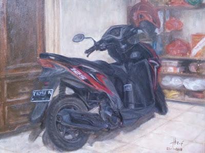 Motorbike Painting