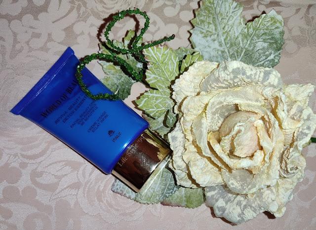 beauty routine detossinante World of beauty crema Reviva detox