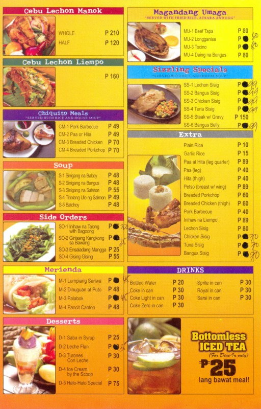 List Of Fast Food Restaurants In The Philippines