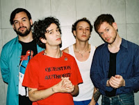 The 1975 are an English pop rock band formed in 2002 in Wilmslow, Cheshire. Now based in Manchester, the band consists of lead vocalist and rhythm guitarist Matthew Healy, lead guitarist Adam Hann, bassist Ross MacDonald, and drummer George Daniel.