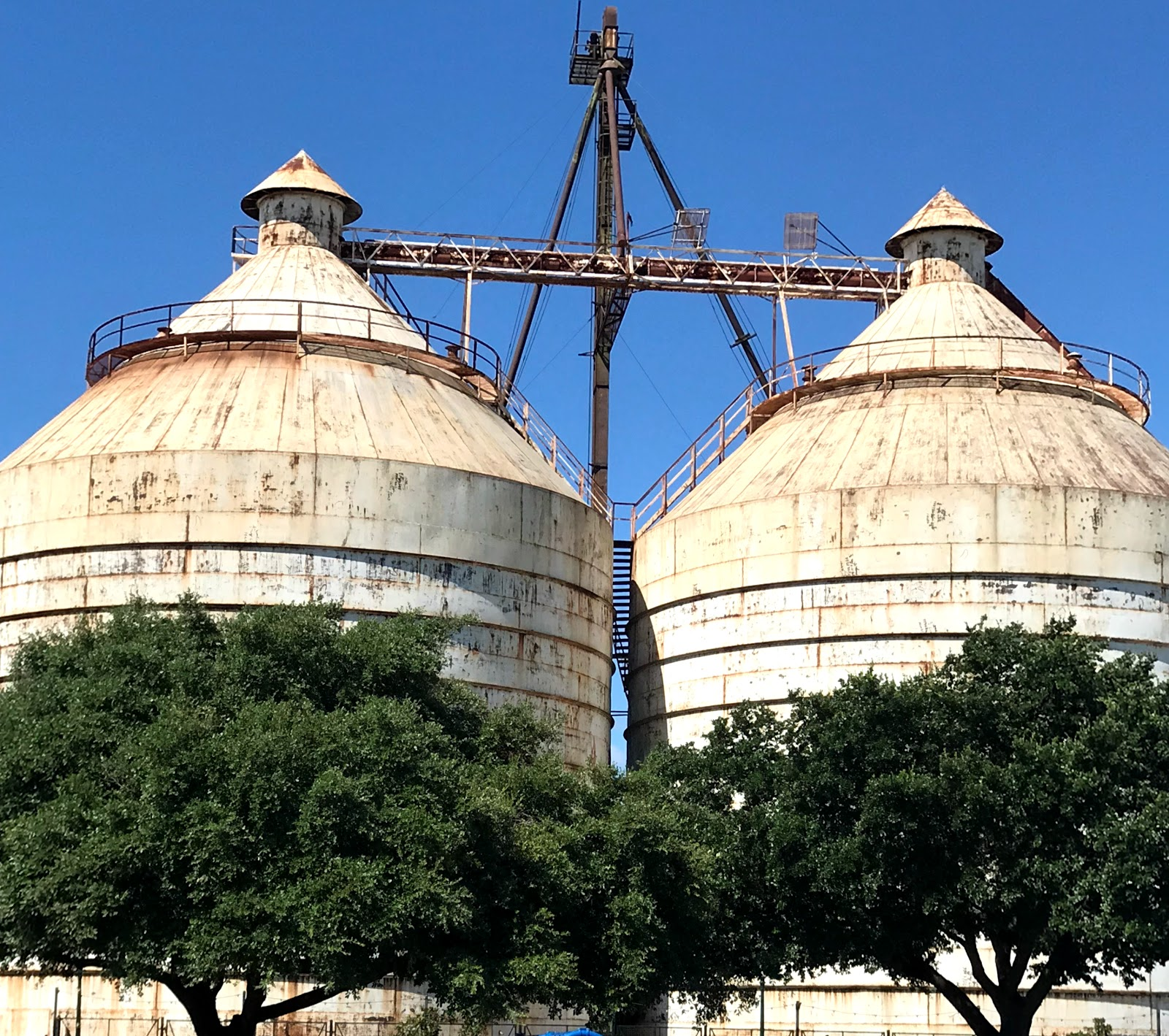 Image: Magnolia Silos in Waco Texas. Taken by Tangie Bell for her blog Bits and Babbles.