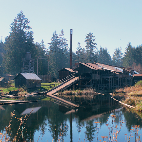 McLean Mill Vancouver Island BC