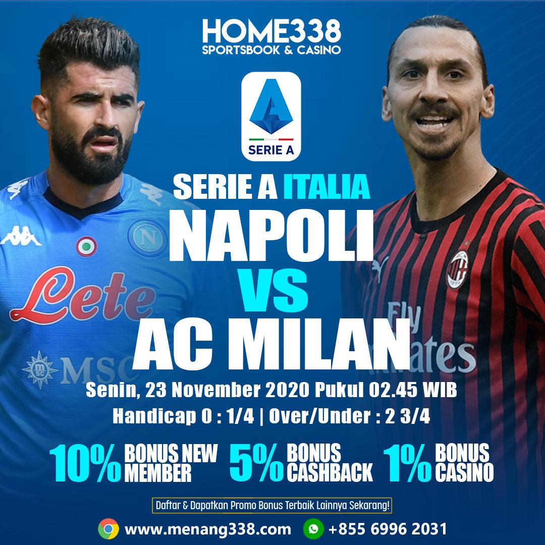Prediksi Napoli vs AC Milan