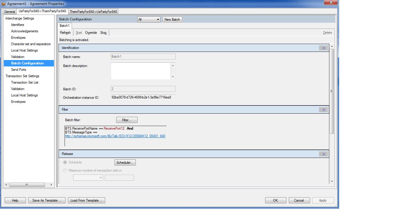 Behind the Microsoft cloud : EDI Batching using Biztalk