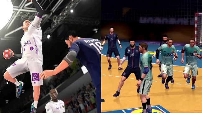 Compare Handball 21 vs Handball 17