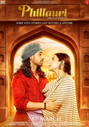 Poster of Phillauri 2017 Full Hindi Movie Free Download In DVDRip 720p ESub