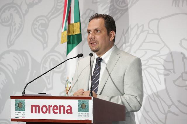 diputado Alejandro Carvajal Hidalgo (Morena)