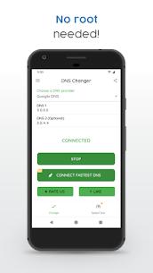 DNS Changer (no root 3G/WiFi) Pro v1117r MOD APK