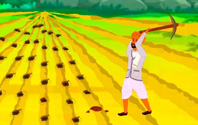 قصة إبنة المزارع مع الحاكم