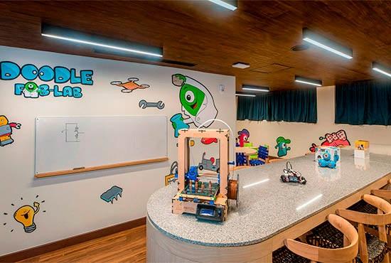 ESTUDIO Playa Mujeres Doodle Land For Kids