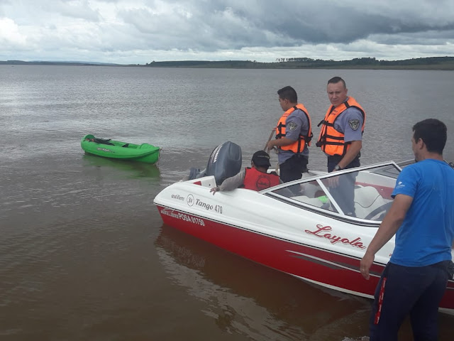GARUPÁ : Rescataron a un hombre en aguas del arroyo Garupá