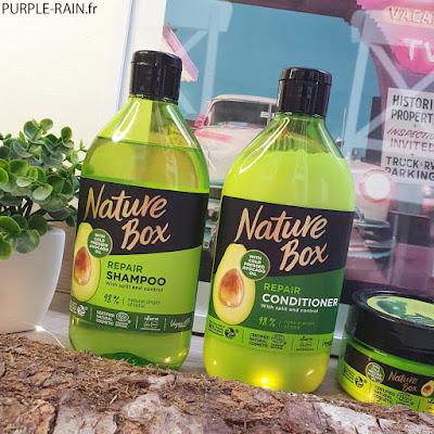 PurpleRain Repair Shampoo Avocado - Nature Box