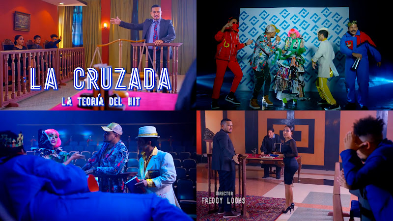 La Cruzada - ¨La teoría del hit¨ - Videoclip - Director: Freddy Loons. Portal Del Vídeo Clip Cubano. Música cubana. Reguetón. CUBA.
