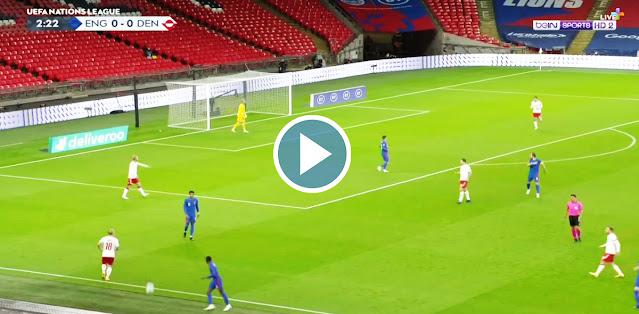 England vs Denmark Live Score